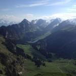Alpstein, Sicht vom Kamor