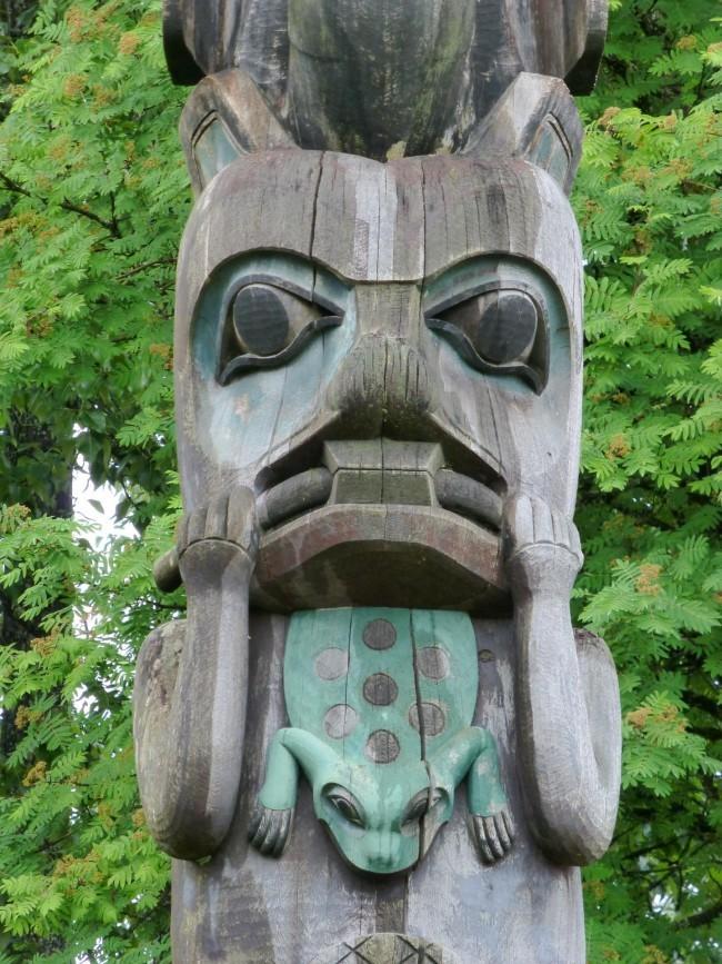 Totem in Wrangell